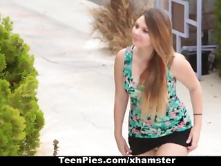 TeenPies - Creampied By Her Best Friends Pa