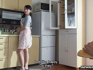 Ardent svelte Jap damsel Kokona Sakurai wanna fright poked doggy arrogance darn wonderful