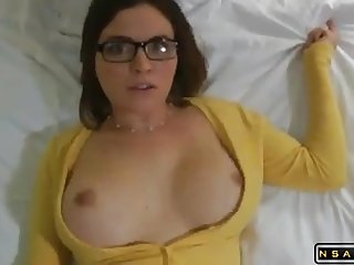 Creaming hes hot chap-fallen busty horny wife in homemade sexvideo