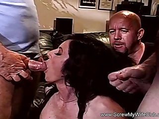 Unsightly Indecision With Big Time Slut MILF With Sexy Erection