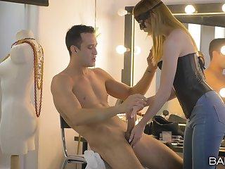 Wildly satisfying dressing room fuck of scrumptious Kai Taylor
