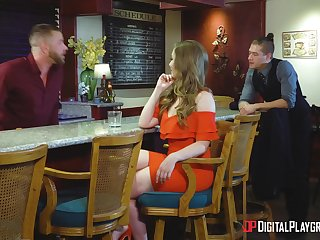 Lena Paul can't droop to approve home to be balls deep penetrated