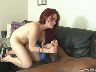 BBC Does White Wife On Couch Make A Deep Sex Opportunity