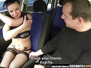Czech Whore Concession for Driver Fuck Say no to In The Car