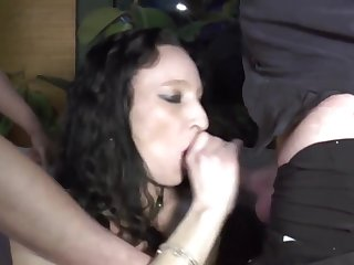 Denunciative Mature And The brush Younger Lovers - gangbang