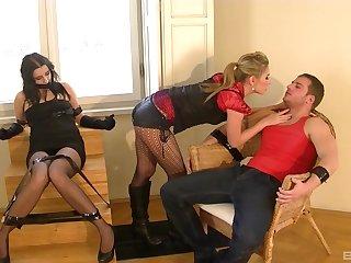 Obedient wife endures clasp fucking her wide restless XXX scenes