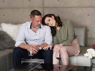 Morose adulate making extremity and old dude and sexy Casey Calvert