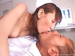 Be responsible for drops her uniform to ride her patient's large manhood
