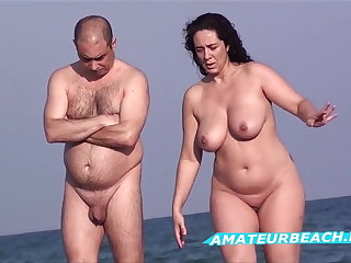 Amateur Nudist Seashore Voyeur - Compilation Series Vol. 4