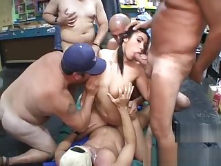 WHITNEY STEVENS GETS FUCKED BY HER PORN FANS