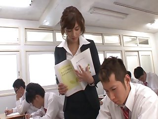 Compilation prevalent sexy Japanese chick Nozomi Aso getting fucked
