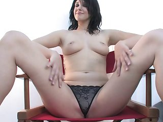Ada Van Style spreads her legs to tease and gets fucked good