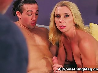 Cuckold to make an issue of ass-fucked wife - Nancy Jay, The Ladies' James, and Tarzan - 40SomethingMag
