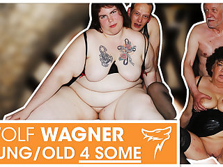 Swinger orgy! MILFs get boned & pay off cum! WolfWagner.com