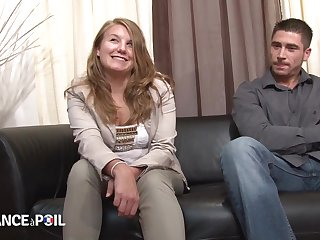 Penis Happy Teenage Blond Hair Daughter From France