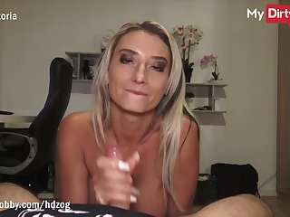 MyDirtyHobby - Beautiful blonde MILF fucked at the end of one's tether stranger
