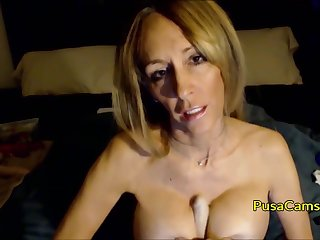 Hot mature blonde with busty big tits talking dirty and being so naughty get hitched I would correspondent to to fuck.