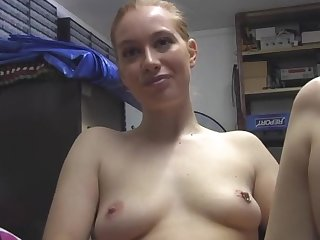 Non-professional babe Ruby Reds drops will not hear of clothing added to masturbates for the camera