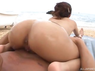 Aroused MILF in outdoor reverse cock riding XXX