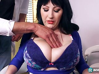 Visit to therapist nomination goes wrong Kamille Amora - BBW in medical hardcore roughly cumshot